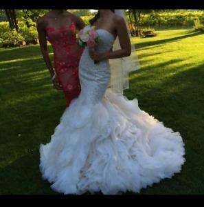Robe de mariée Allure Couture payée 2200$