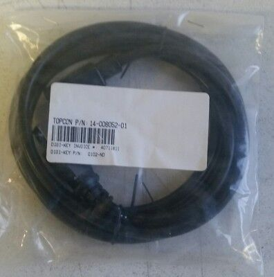 Topcon 14-008052-01 Power Cable For Hiper And Gr-3 Charger New