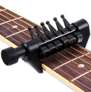 Guitar Capo, Alternate Tunings - FREE Stainless Steel Pick