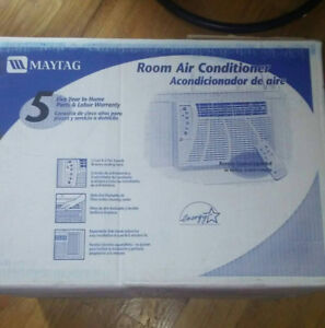 Maytag Window Air Conditioner & Remote with Bracket For Sale