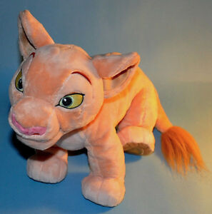Disney store Large Lion King NALA Cub Bean Bag Plush Toy Doll
