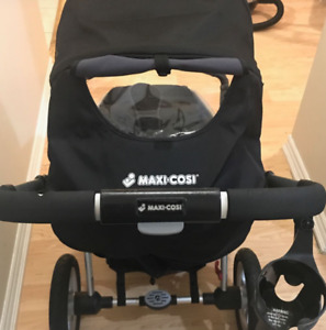 Maxi Cosi Foray LX stroller, Mico AP Carseat n brand new cover