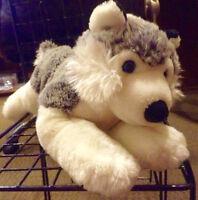 Plush husky (dog) (Save $10)