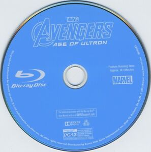 the avengers. 2 blu-ray movies.for all.