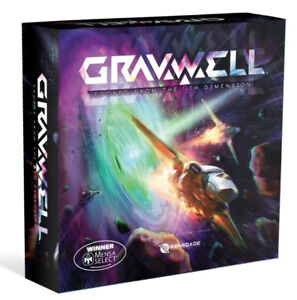 Brand New Gravwell: Escape from The 9th Dimension Board Game