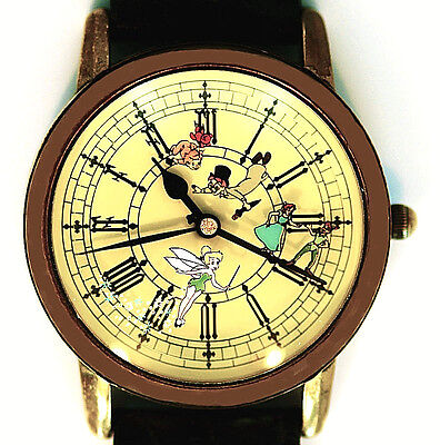 Peter Pan Wendy Tinkerbell And More, Fossil For Disney Park Watch 4282/5000 $235 (Tinkerbell And Peter Pan)