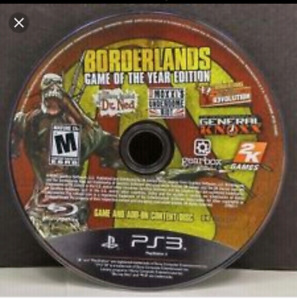 Looking for Borderlands: Game of the year edition.