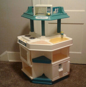 Fisher Price Kitchen set and activity center