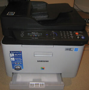 Samsung Wireless Color All-In-One Laser Printer (SL-C460W/XAA)