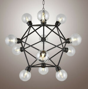 Gyro-elongated square dipyramid Chandelier Pendant lamp Luminair