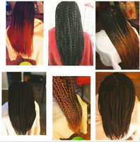Hair Braiding and Weave Installation