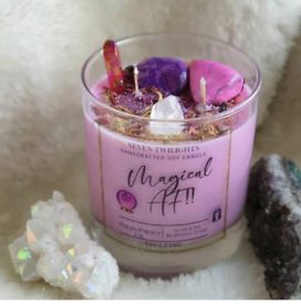 Magical af candle