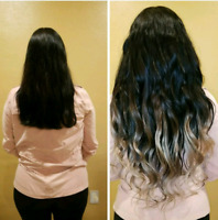 $300 FALL SPECIAL MICROLINK/ TAPE IN HUMAN HAIR EXTENSIONS 170G