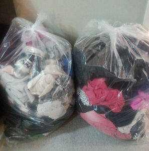 Assorted Clothing - 2 Large Bags
