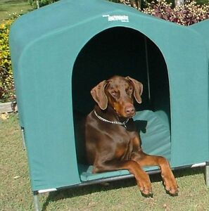 HoundHouse Extra Large Green Kennel Dog Bed pet home house Carlisle Victoria Park Area Preview
