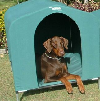 HoundHouse Extra Large Green Kennel Dog Bed pet home house