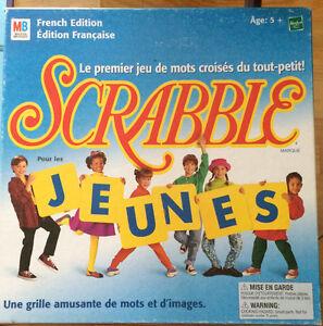 Jeu Société SCRABBLES JEUNES Milton Bradley