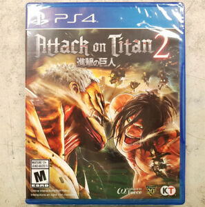 Attack on Titan 2 PS4 Game - NEW