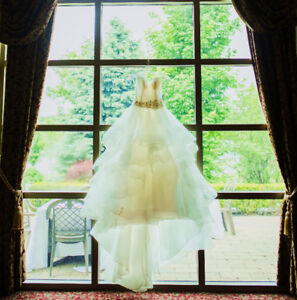 Fairytale Allure Wedding Gown with 5 layers of tulle full skirt