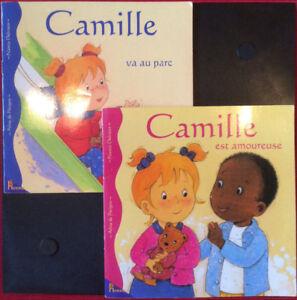 3 Camille livres enfant