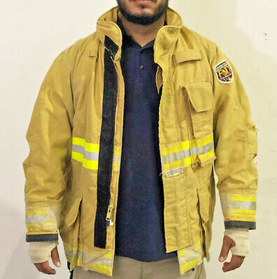 Fire-dex Yellow Structural Turnout Coats Pre-owned Fire Jackets
