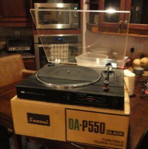 SANSUI  da p550 table sut. Direct. Etat neuf