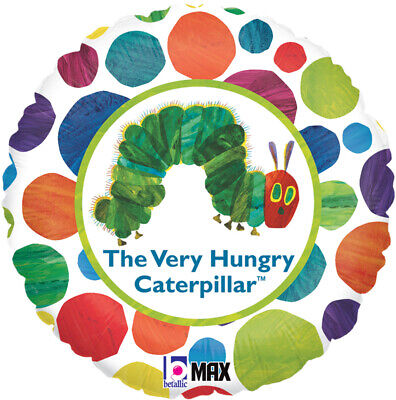 The Very Hungry Caterpillar Foil Balloon 46 cm (18 in) Party Event Decoration - Very Hungry Caterpillar Party Decorations
