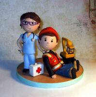 Figurines pour gâteau personalisées / Customised Cake Toppers