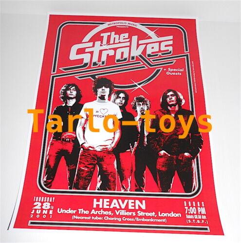 the STROKES - London, Uk - 28 june 2001 - concert poster