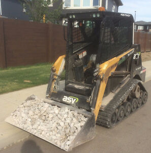 Skid Steer / Bob Cat Services-landscaping,snow, windrows Edmonton Edmonton Area image 2