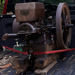 Old Acadia Gas Engines!