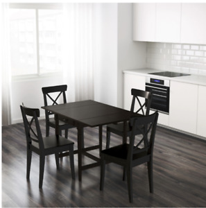 IKEA Dining Table  with 4 chairs for sale