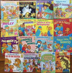 BERENSTAIN BEARS picture books $2 each or all 16 for $30