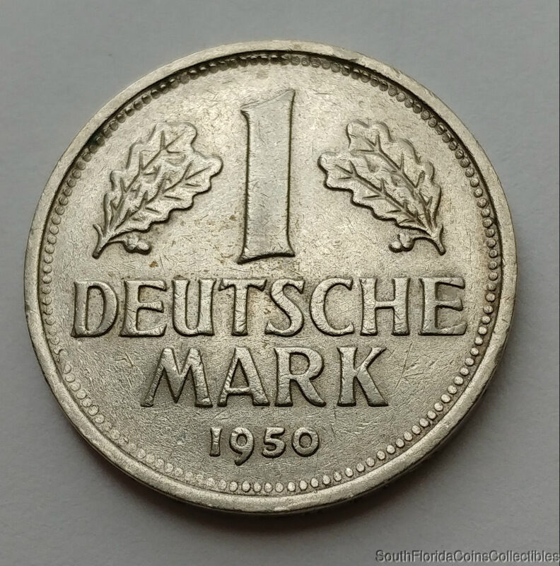 1950-G Germany 1 Duetsche Mark