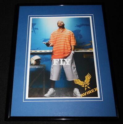 Method Man 2005 Avirex FLY Framed 11x14 ORIGINAL Advertisement