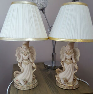 A matching pair of Sarah's Angel lamps.(2)