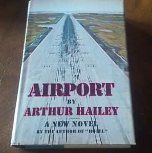 Airport, Arthur Hailey, First Edition, 1968 Kitchener / Waterloo Kitchener Area image 1