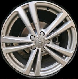 Audi a3 18 inch genuine audi alloy wheel excellent condition