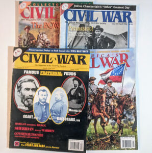 American Civil War Magazines - Back Issues 1993/1998 (4 Issues)
