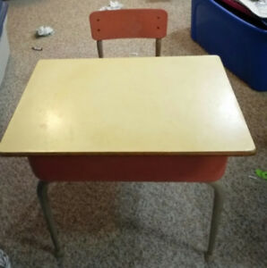 2 School Desks For Sale