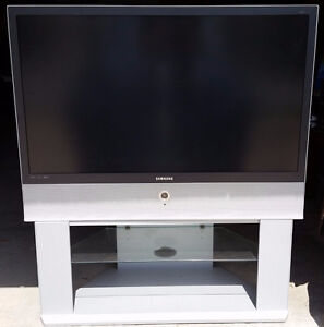 """Samsung 50"""" rear projection LCD TV"""