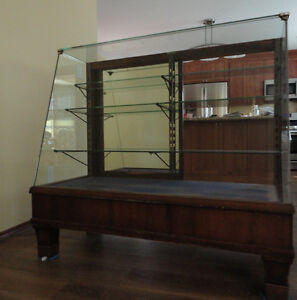 Vintage solid wood show case