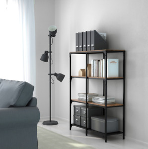 IKEA FJÄLLBO Shelf Unit, Black