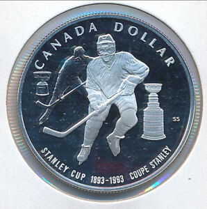 1993 Canadian $1 Stanley Cup® 100th Anniversary Coin