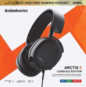 SteelSeries Arctis 3 Console (2019 Edition) Stereo Wired Gaming