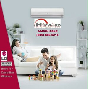 LG Mini Split Heat Pumps - Ask about our Price Match Guarantee