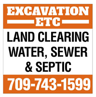 Excavation and landscaping