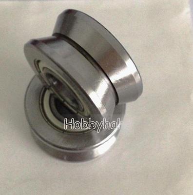 5pcs Lv202-41 V Groove 154120mm Track Roller Guide Vgroove Sealed Ball Bearing