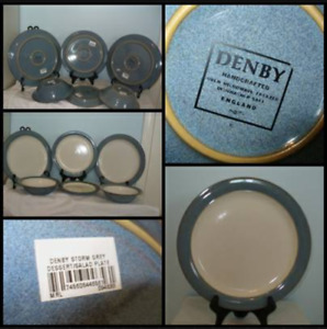 """Denby """"Storm Grey"""" Dishes"""