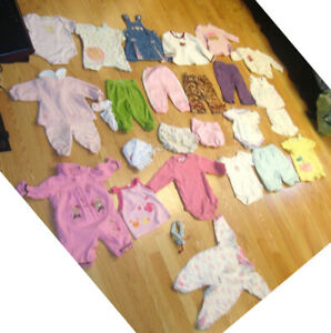 Lot B of 26 Piece Clothing Size 3-6 Months - $45 for all!